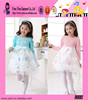 Fashion High Quality Sunshine Girl Lace Dress Custom Hot Sale One Piece Printed Casual Kids Dress For Girl