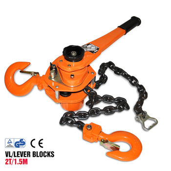 2 Ton 5 Ft Lift Lever Block Chain Hoist 4000lbs Chain Ratchet Lever Block  Lift Puller - Buy Chain Hoist,Lever Block Malaysia,3m Lever Block Product  on