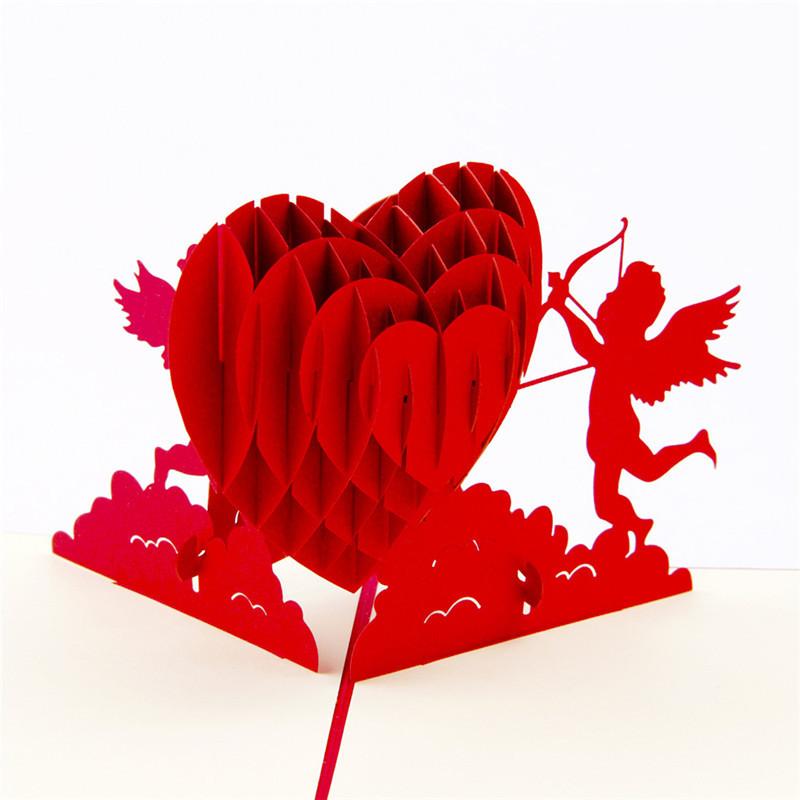 Сердце в открытке