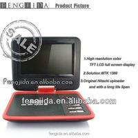 car portable dvd player made in professional China factory