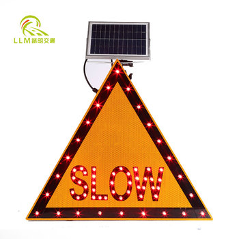 lowest price High Brightness led traffic sign board