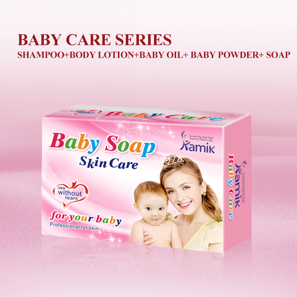 Baby shower soap natural skin whitening bath soap for babies