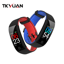 2019 bunte Bildschirm Smart Armband BT4.0 Herz Rate Monitor Smart band Armbanduhr Sport Fitness Band für Android iOS