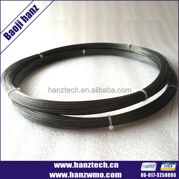 Hight Quality Molybdenum Wire 0.22mm Price
