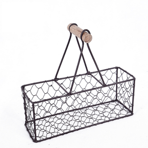Superior Quality Hanging Metal Wire Fruit Storage Basket