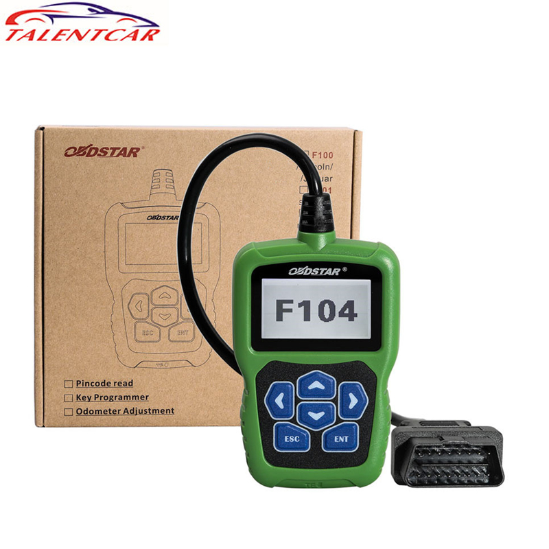 100% Original OBDSTAR F104 Key Programmer for Chrysler Jeep Dodge IMMOBILIZER Pin Code Reader
