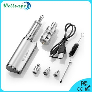 Good quality wholesale price 30w 2200mah 3 in 1 vape kit VX30 for oil and wax and dry herb