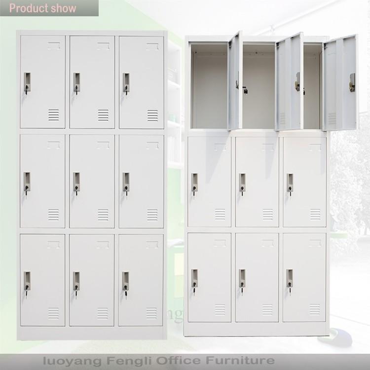 9 Porta Armadietti Armadietti Spogliatoio Metallo Scuola Usati In