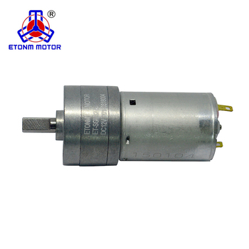 24VDC high torque low rpm dc motor with gearbox 32mm