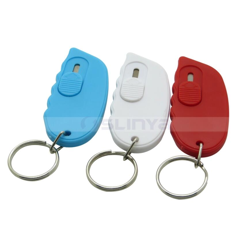 Mini Regalo di Carta Taglierina Keychain Coltello