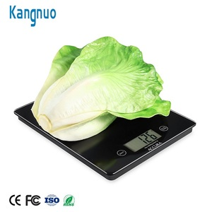 High Quality Tempered Glass 5Kg Digital Food Weight Electronic Kitchen Weighing Scale