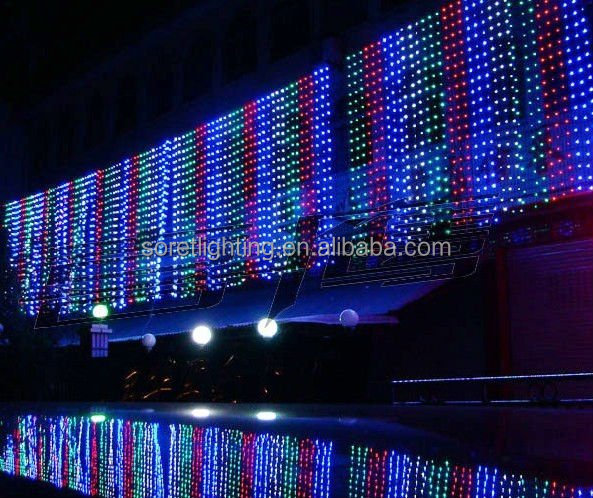 Curtains Ideas curtain lighting : Led Snowfall Curtain Lights, Led Snowfall Curtain Lights Suppliers ...
