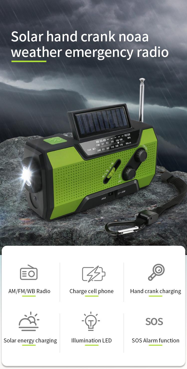 Amazon Best Seller Solar Hand Crank Noaa Weather Outdoor Survival Kit With  Emergency Radio - Buy Survival Kit Outdoor,Outdoor Survival Kit,Tactical