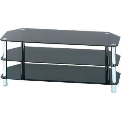 Black Tempered Glass Tv Stand 003 29 99 Gbp Inc Buy Glass Tv