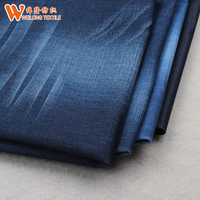 low price raw material denim jeans fabric made in China