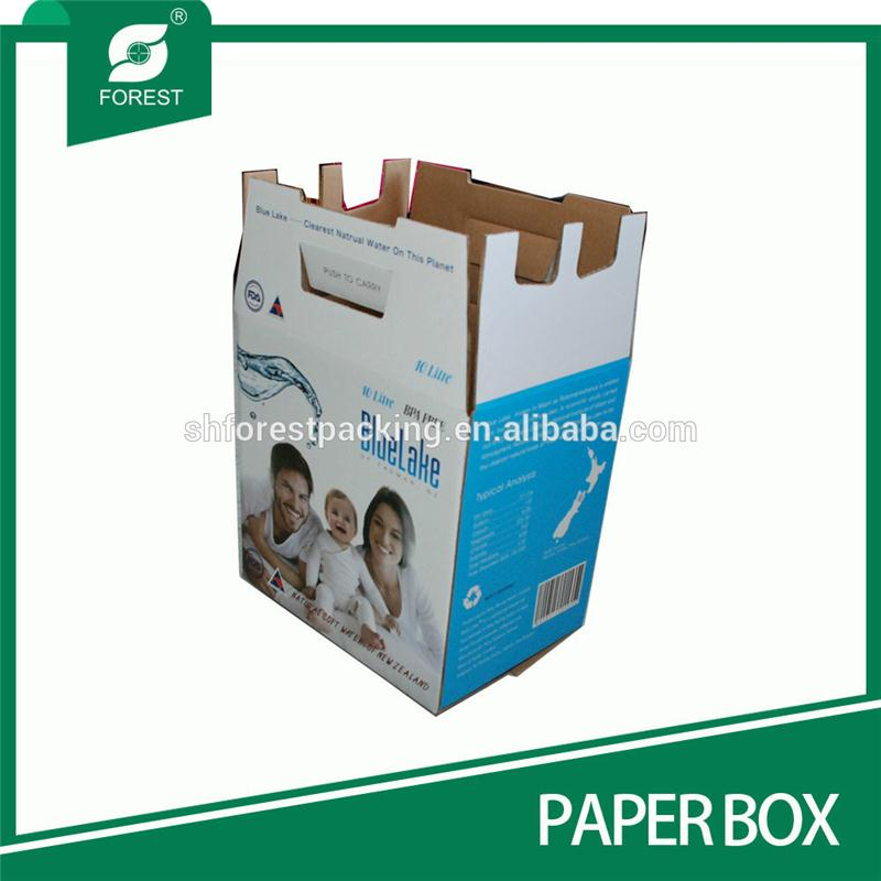 ACCEPT CUSTOM ORDER CORRUGATED PAPER BOXES FOR PACKING DRINKS