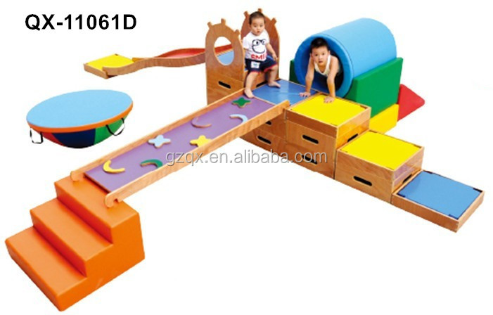 Parent Child Sports Combination Indoor Wooden Playground,indoor Wooden  Playground Slide, Wooden Playground