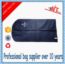 2015 alibaba nonwoven fabric mens travel garment bags