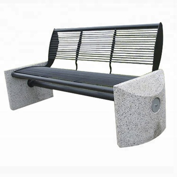Schwere Durable Metall Gartenmobel Aussen Eisen Beton Parkbank