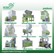high density china powerful plastic shredder and crusher Glue