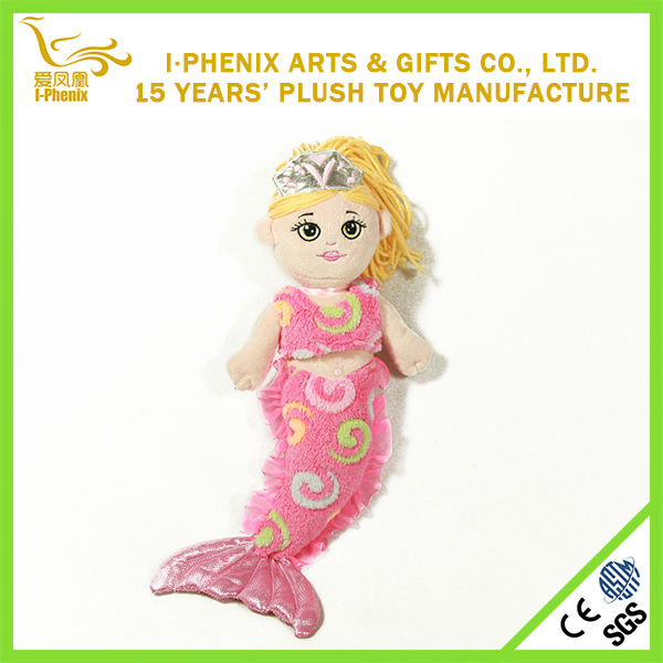 new design hot sale plush mermaid toy popular toys for kids