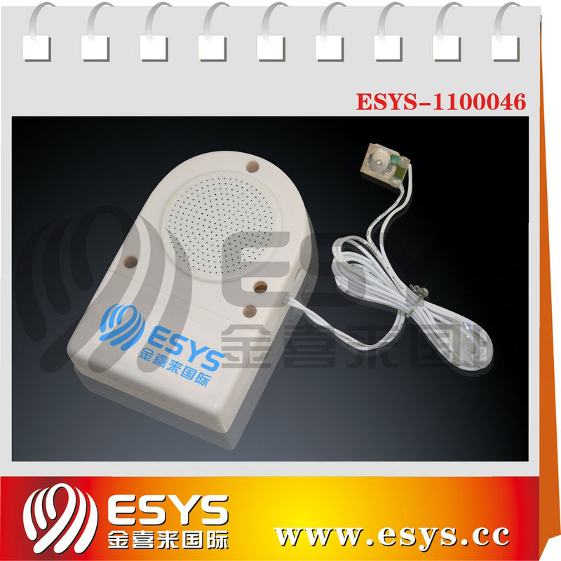 Motion sensor music box for advertisement market