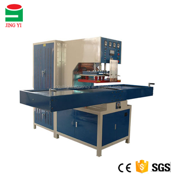 PVC Carpets Shuttle Tray High Frequency Plastic Welding Machine