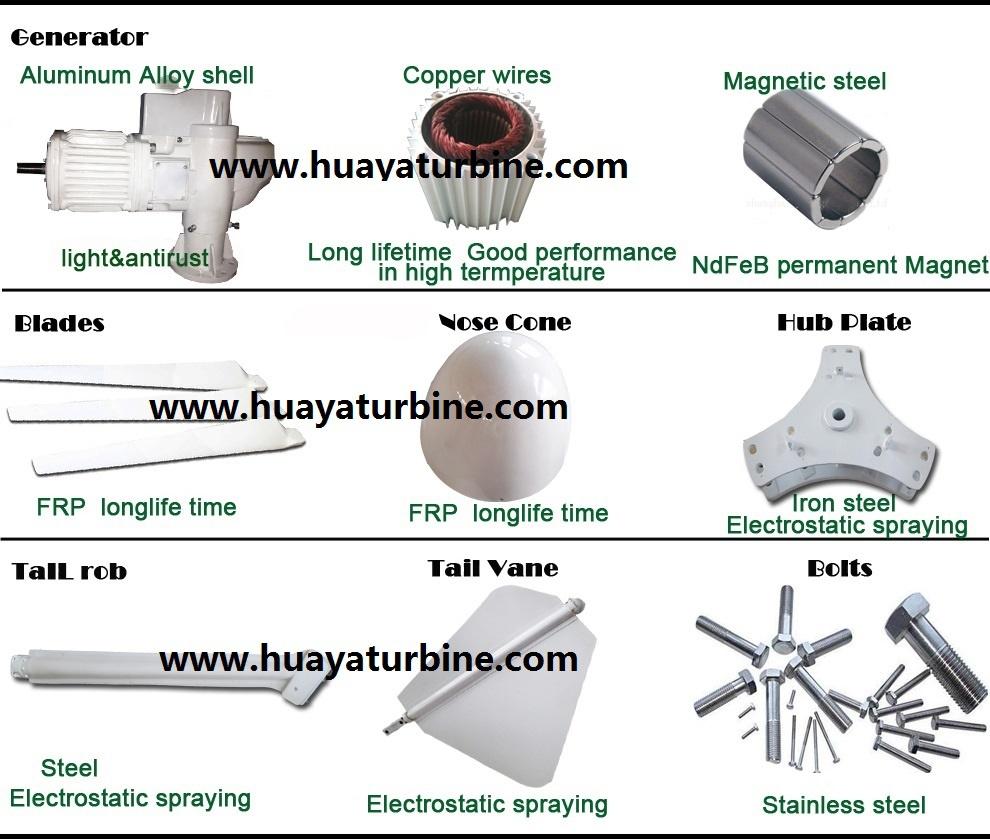 3kw High Efficiency Maglev Wind Generator Price Buy Power Wiring Diagram Turbine Assembly Water Mark