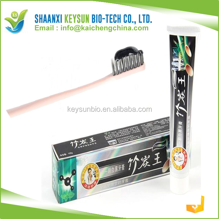 Private label OEM nature bamboo charcoal toothpaste