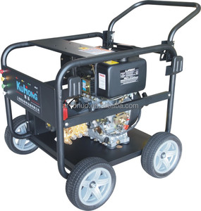 Diesel High pressure washer With Electric Starter / 186 F Engine / Ar pump