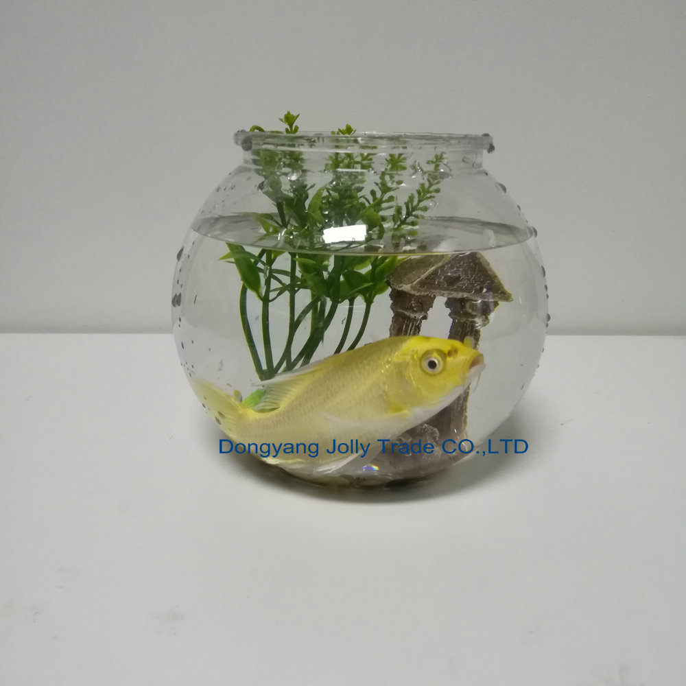Hot Koop 1.2L Mini Tafel Decoratie plastic vis plant tank