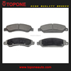 D1092 89059119 Ceramic brake pads For CHEVROLET For CADILLAC