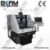 high precision&high speed CNC lathe for mobile phone glass polishing