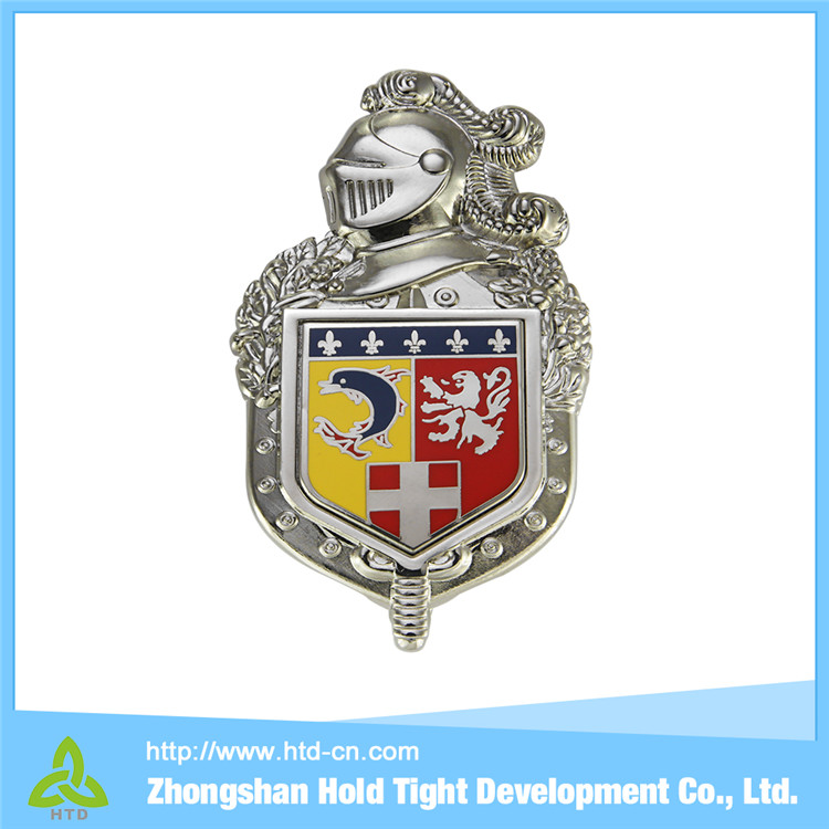 2015 Fashional family crests & flags banners pennants bullion wire badges