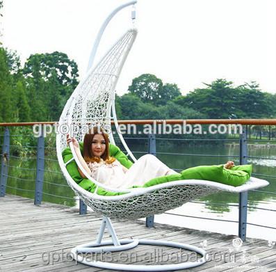 patio con giardino altalene ingrosso uovo chaped swing amaca sedia