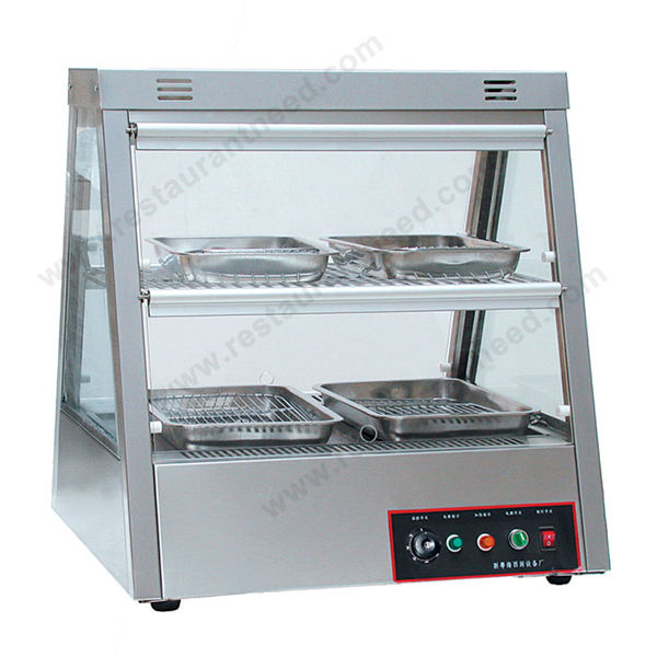 Hotel Kitchen Equipment 2/4 Layer Showcase Cabinet Hot food warmer