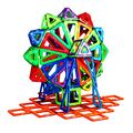 2017 Children Educational Toy Magnetic Building Blocks Hollow Models Kits 33 52Pcs FEB17 30