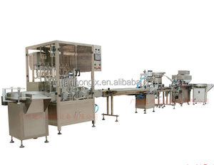 Automatic perfume filling production line, perfume making machine, perfume packing machine
