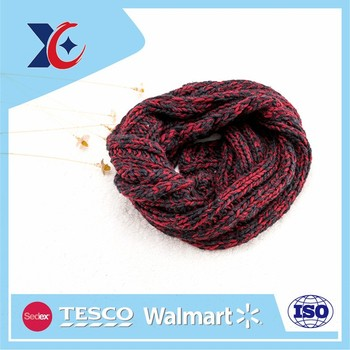 colourful striped fashion checked winter autumn scarf
