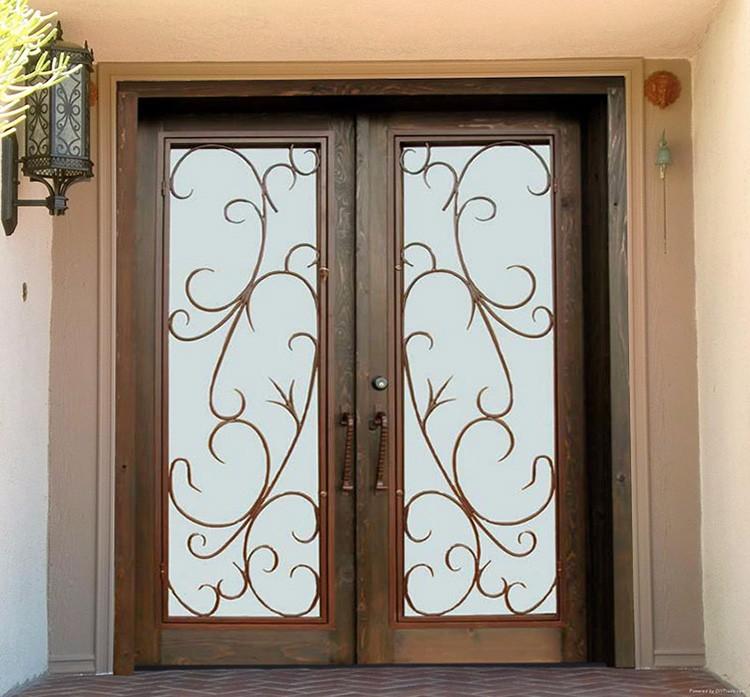 Puertas de hierro forjado para exteriores best puerta de - Puertas de hierro para exterior ...
