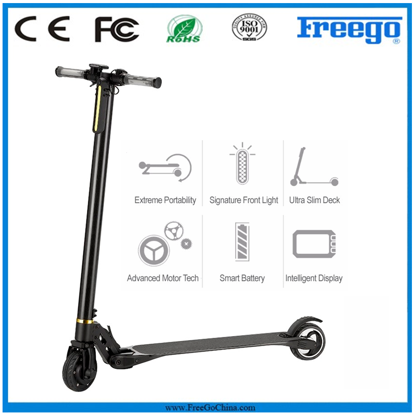 Freego mini portable folding electric scooter with 2 wheels