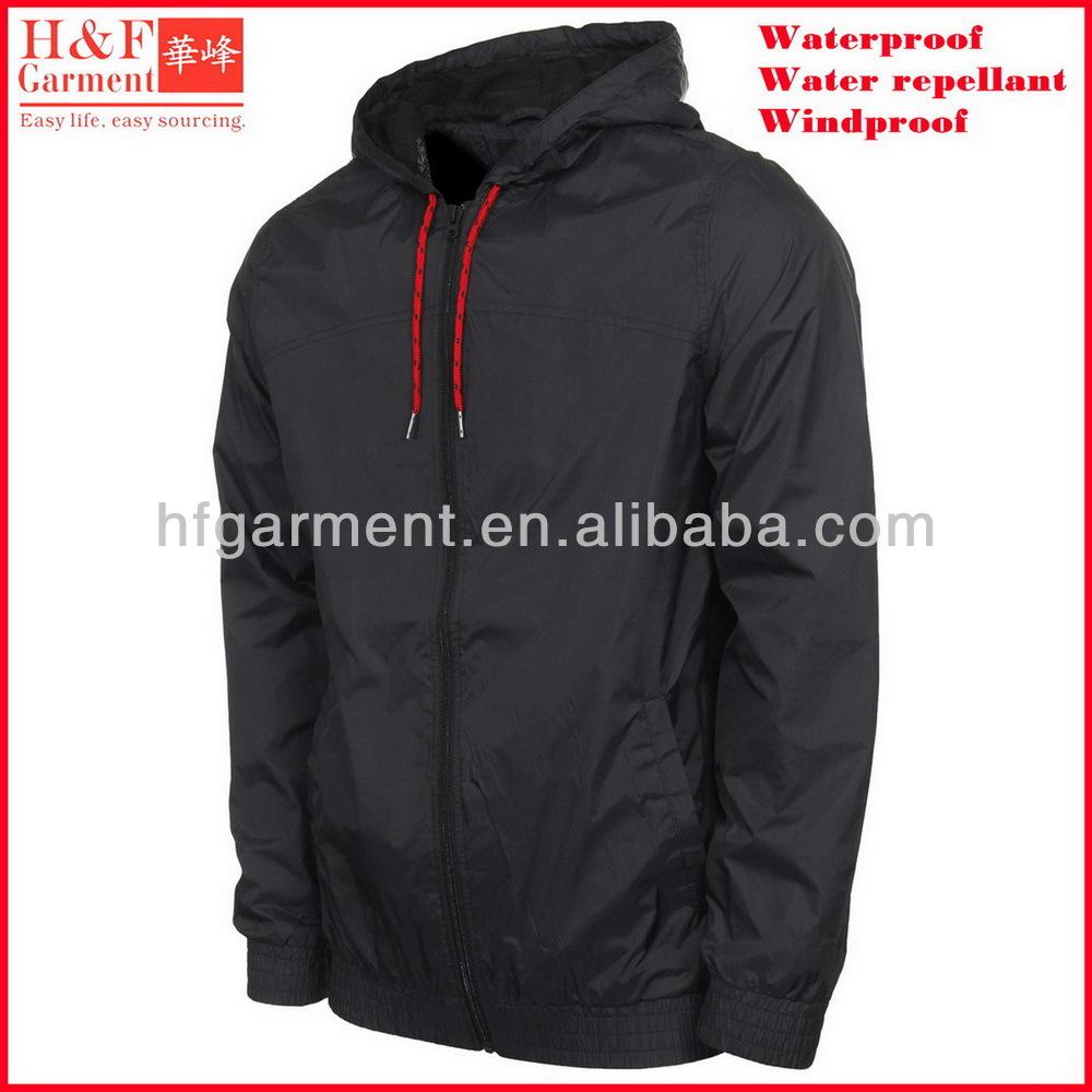 Plain Windbreaker Jacket 09MXDp