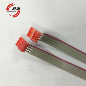 fashional computer UL 2651 24awg flat ribbon cable 5 pin