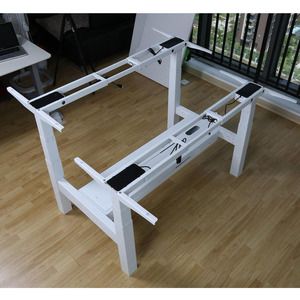 Back to Back Height Adjustable Smart Desk Base Electric Lifting Desk Frame