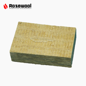 Rockwool material mineral insulation basalt fiber wool fireproof insulation marine Slab