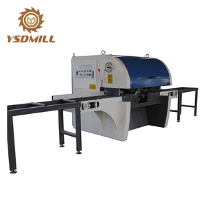 China Production Line Multi Blade Wood Saw Machine For Logs Boards Cutting
