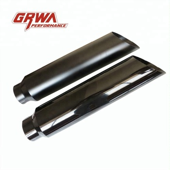 GRWA Stainless Steel Matt black Exhaust Stack for Truck and Pickup