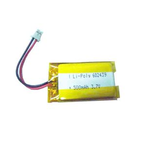 China supplier battery GEB602439 3.7V 500mAh lipo battery for solar storage system