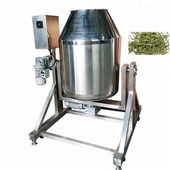 stainless steel industrial flavoring option Tea blending machine