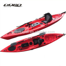 Rotomoulded oceano kayak fishing com pedais e <span class=keywords><strong>leme</strong></span>